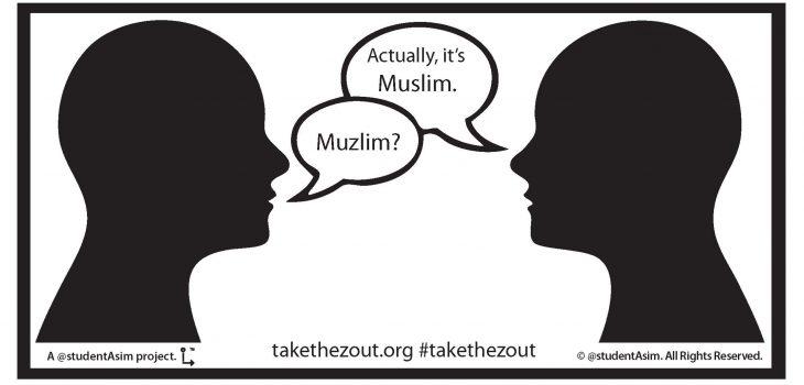 "Take the ""Z"" out™ image-poster Twitter + general by @studentAsim #takethezout takethezout.org"